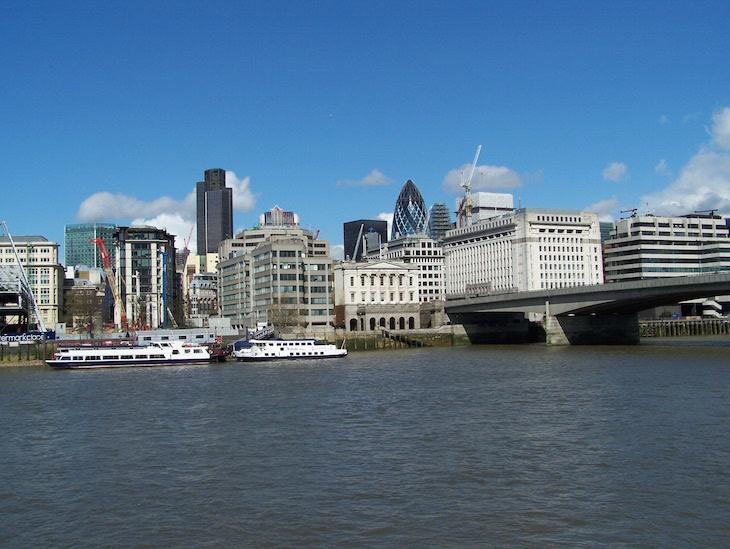 Rio Tamisa, Londres