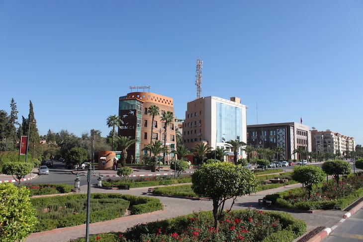 Cidade nova de Marraquexe ©Viaje Comigo