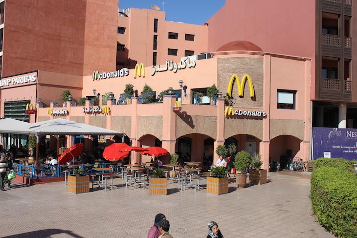 McDonald's em Marraquexe