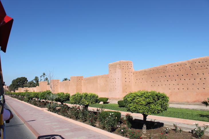 Muralhas da Medina na cidade nova