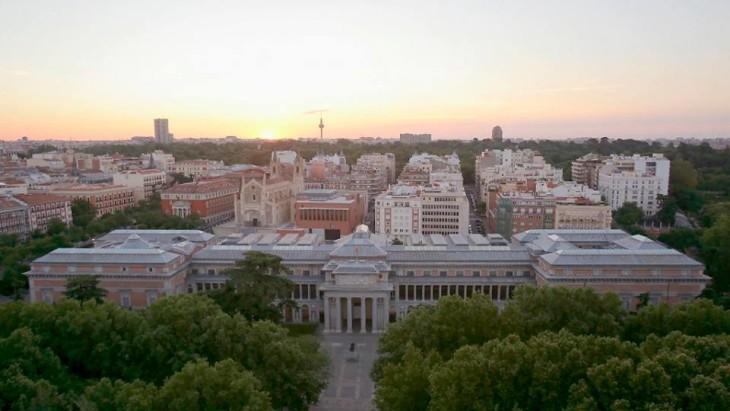 Vista aérea do Museu do Prado- Créditos: Museu do Prado