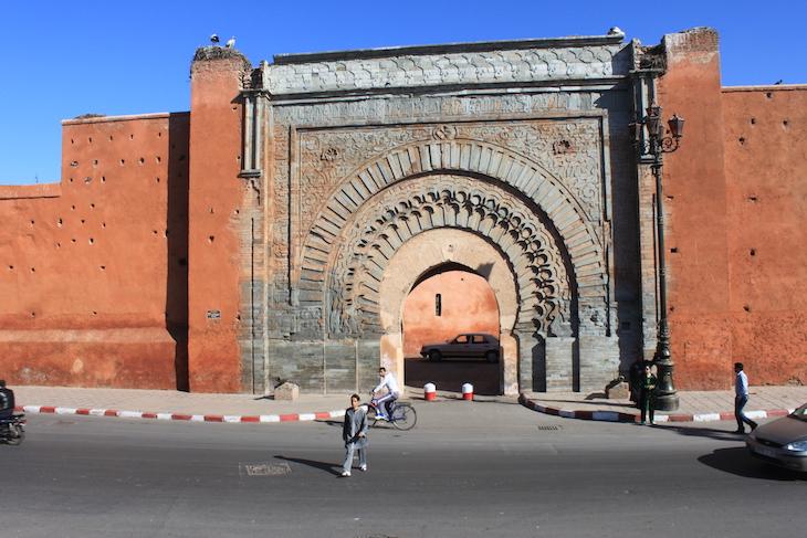 Porta Bab Agnaou, Medina Marraquexe
