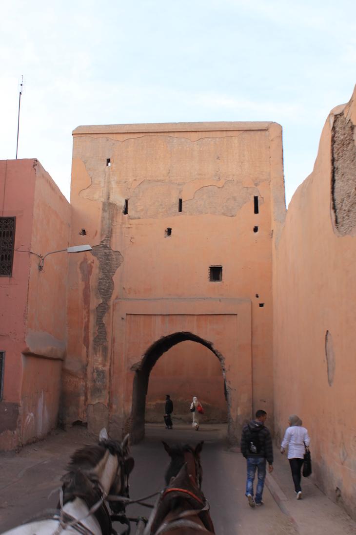 Porta da Medina de Marraquexe