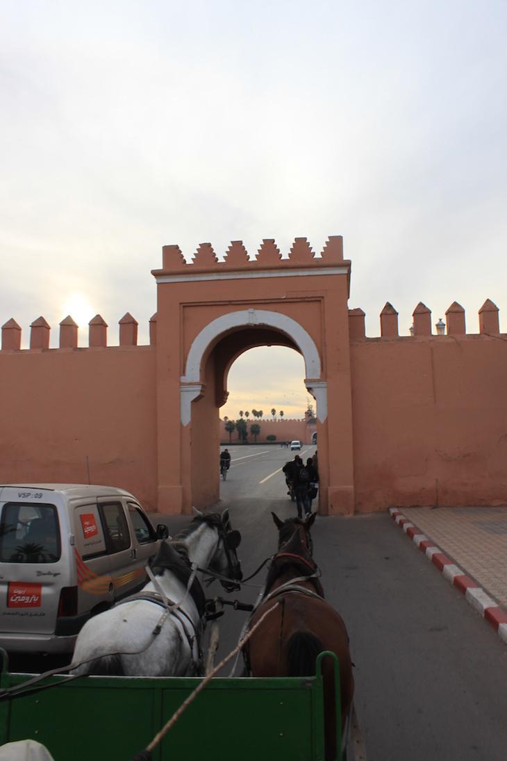 Porta da muralha de Marraquexe