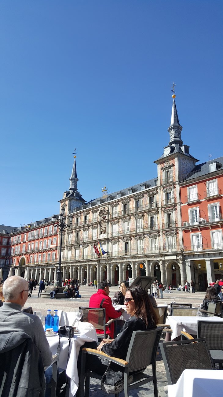 Restaurante Hegar, Plaza Mayor - Madrid © Viaje Comigo