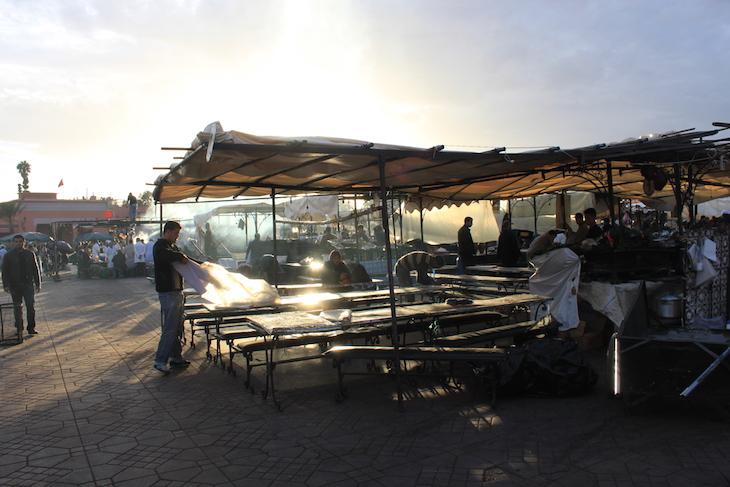 Restaurantes na Djemaa El Fna