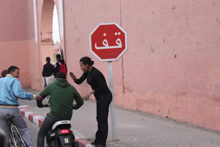 Stop - Marraquexe ©Viaje Comigo
