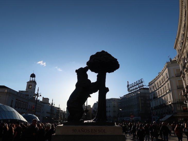 Urso de Madrid - Espanha © Viaje Comigo
