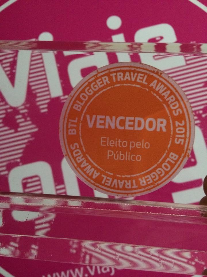Viaje Comigo - Prémio Melhor Blogue de Viagens BTL