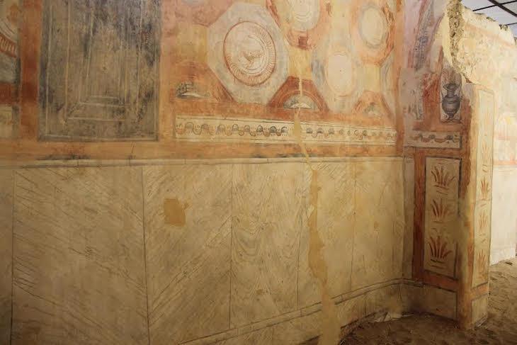 Basílica Paleocristã de Tróia - Ruínas de Tróia DR