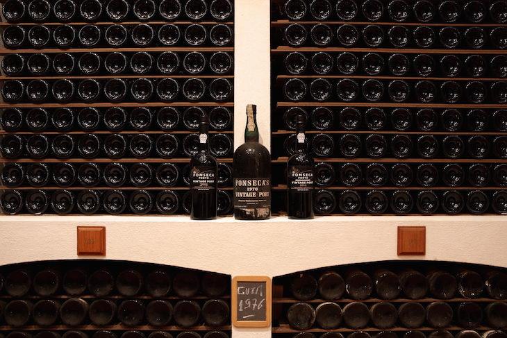 Fonseca vintages na garrafeira