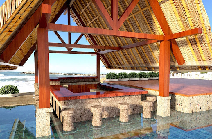 Holiday Inn em Benoa Beach - Bali, Indonésia