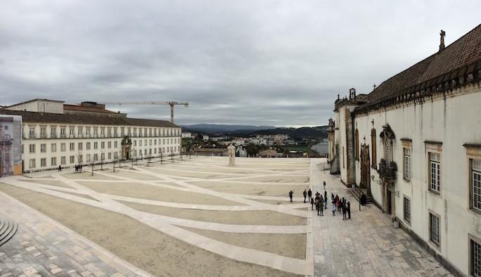 Pátio das Escolas da Universidade de Coimbra
