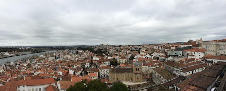 Panorâmica da cidade da Universidade de Coimbra