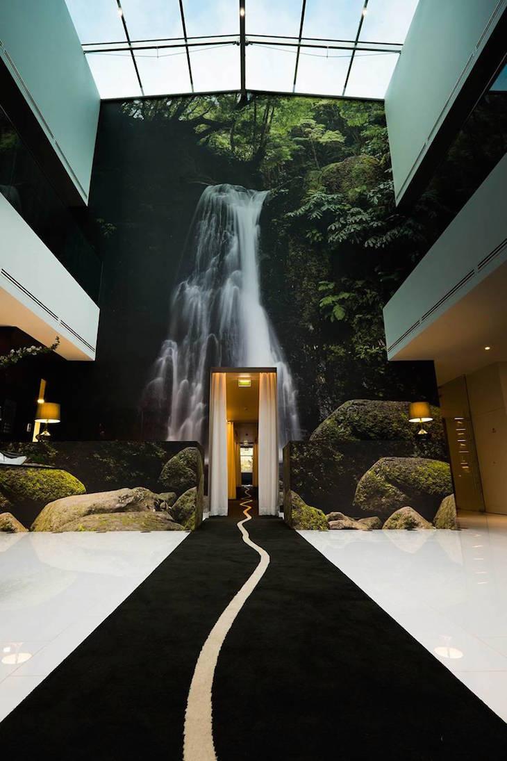 Receção do Furnas Boutique Hotel Thermal & Spa ©Nickolas Bayntun
