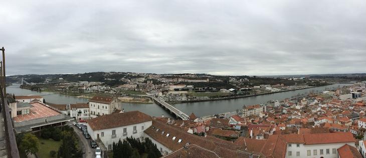 Rio Mondego visto da Universidade de Coimbra © Viaje Comigo