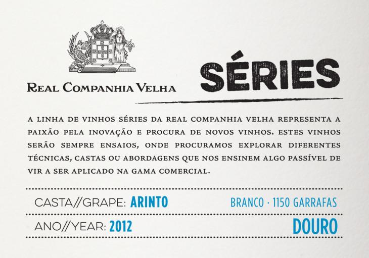 Séries RCV Arinto branco 2012