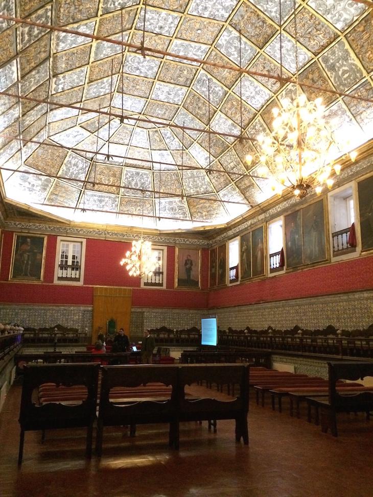 Sala dos exames - Universidade de Coimbra