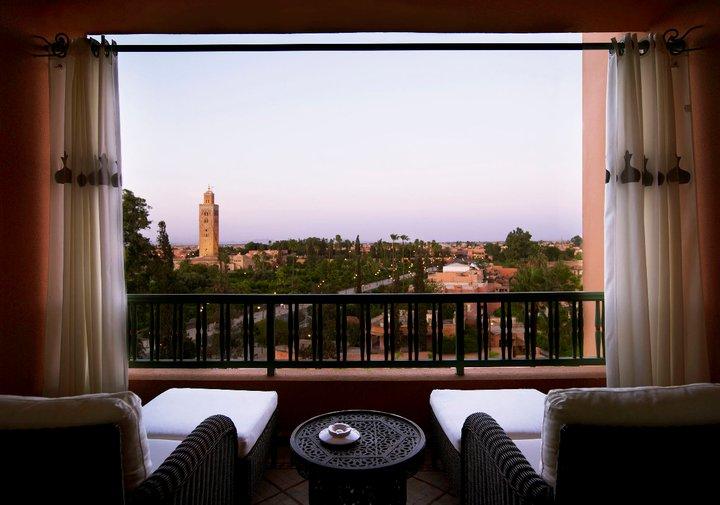 Vista do Hotel Mamounia ©La Moumia Marrakech