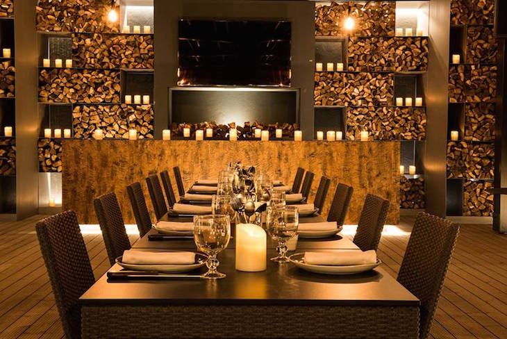 Zona de refeições no restaurante do Furnas Boutique Hotel Thermal & Spa ©Nickolas Bayntun