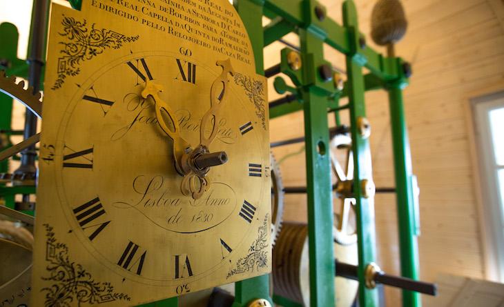 Relógio Monumental do Palácio Nacional da Pena ©Créditos: PSML / Wilson Pereira