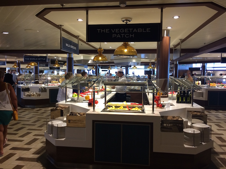 Buffet no Anthem of the Seas ©Viaje Comigo
