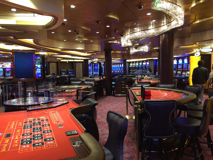 Casino no Anthem of the Seas ©Viaje Comigo