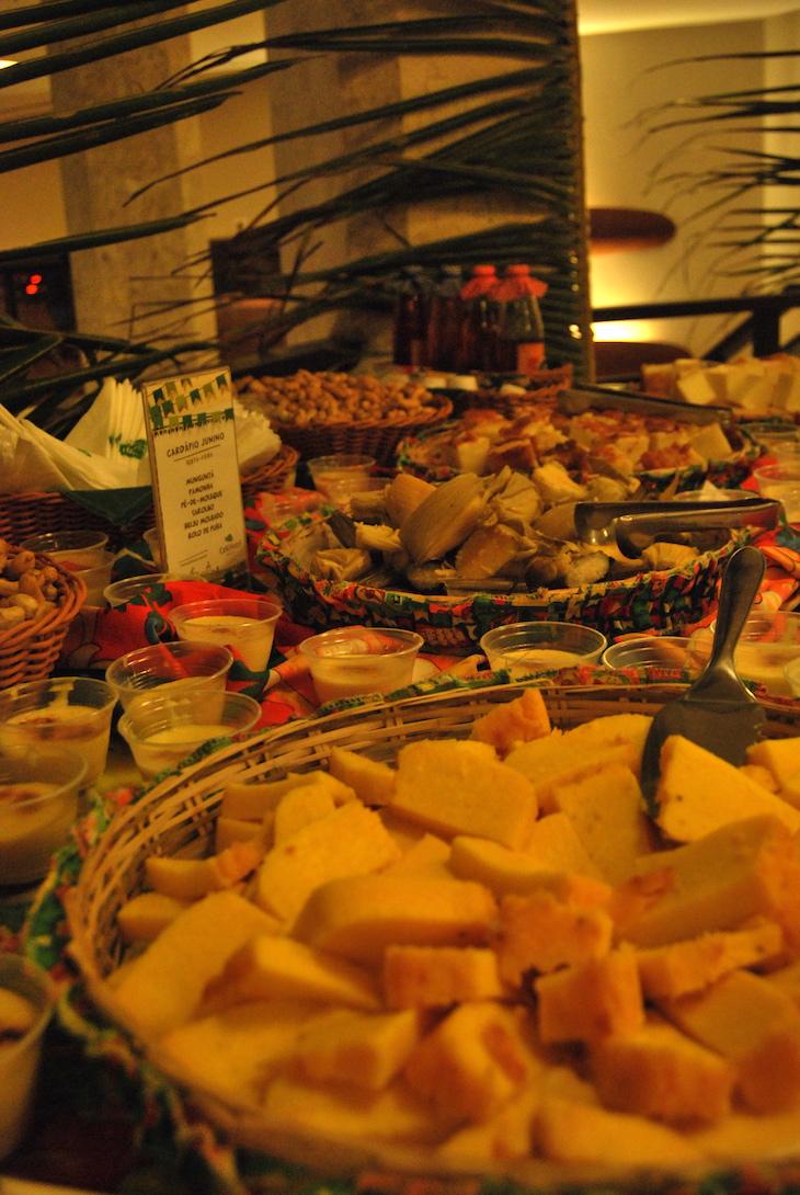Comidas típicas no São João