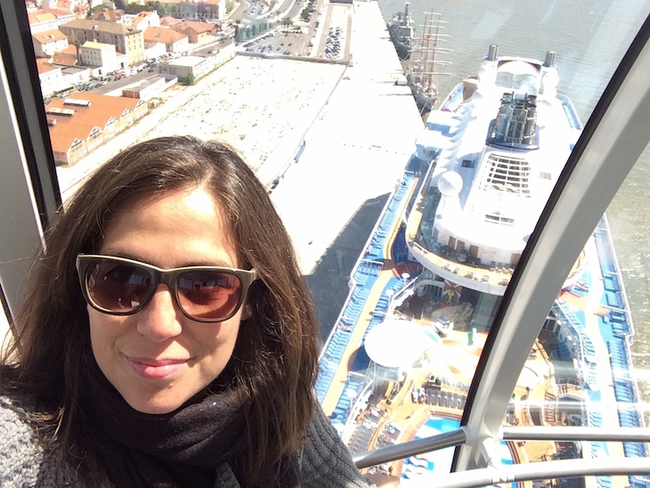 Eu no North Star - Anthem of the Seas ©Viaje Comigo
