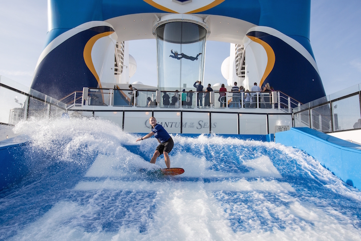 Flow Rider no Anthem of the Seas