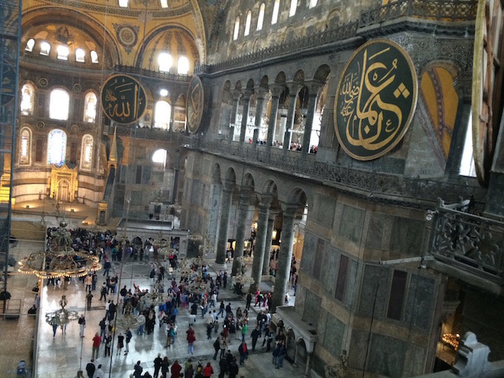 Hagya Sofia - Istambul, Turquia © Viaje Comigo5