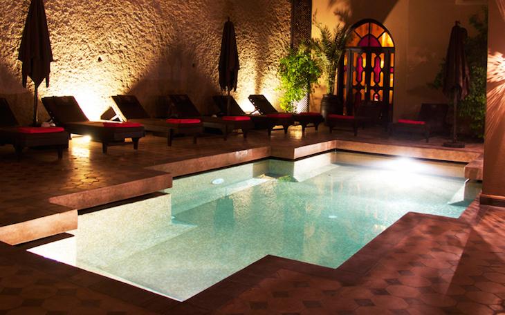 Massagem e relaxamento em Les Bains de Marrakech © DR