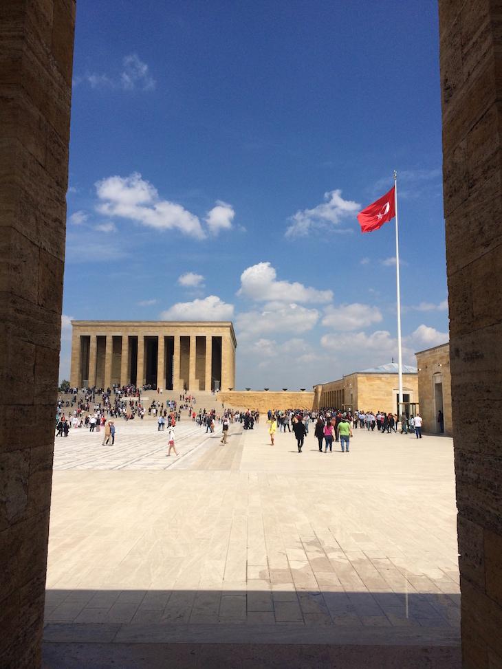Mausoléu e Museu Ataturk em Ankara - Turquia ©Viaje Comigo22