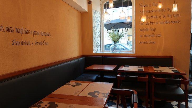 Restaurante Pão à Mesa - Com Certeza - Lisboa © Viaje Comigo