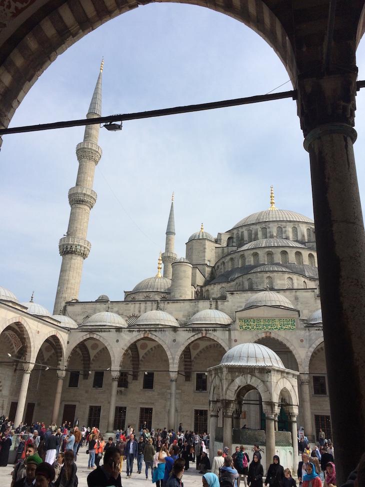 Mesquita Azul, Istambul, Turquia © Viaje ComigoMesquita Azul, Istambul, Turquia © Viaje Comigo