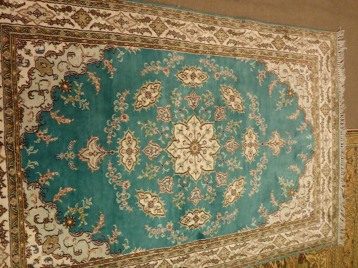 Tapete com fio de seda do Bazaar54, Capadócia, Turquia ©Viaje Comigo