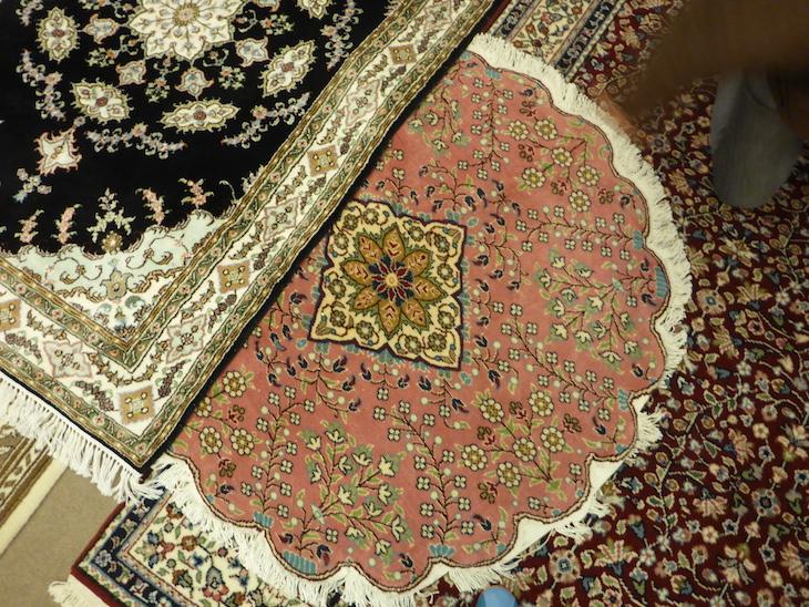 Tapetes no Bazaar54, Capadócia, Turquia ©Viaje Comigo