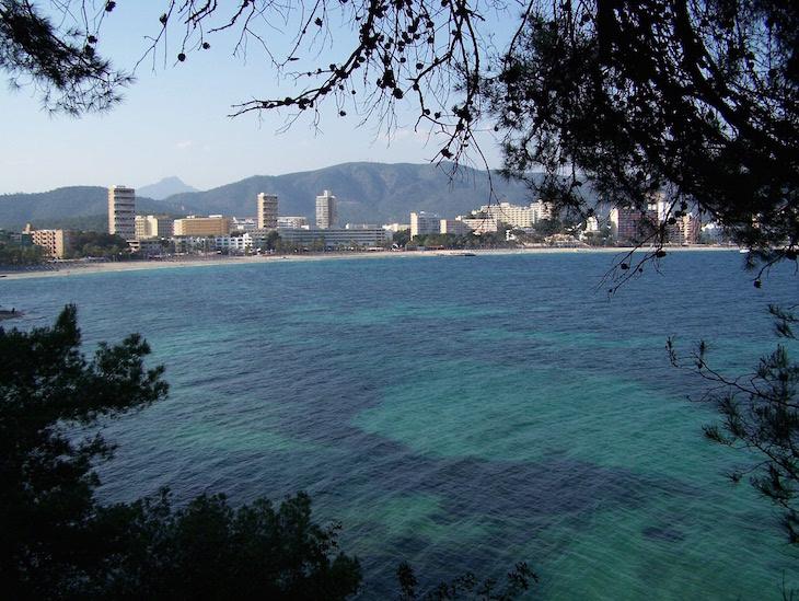 Baía de Magaluf, Maiorca