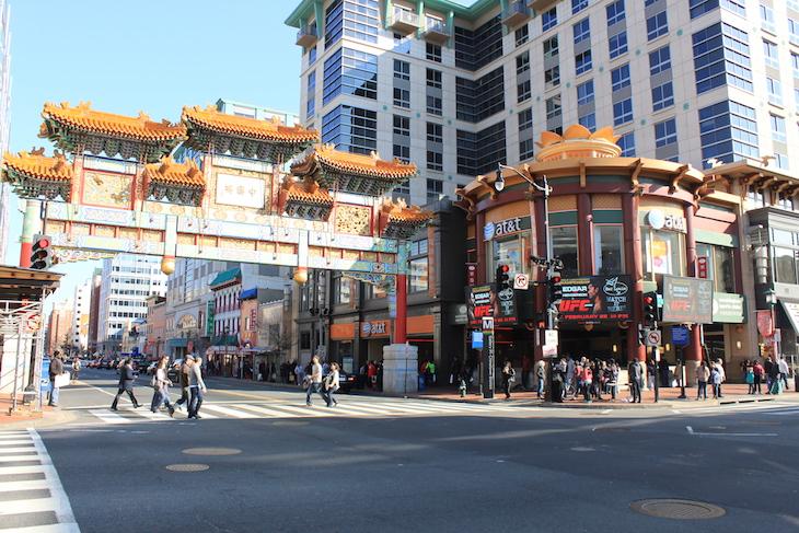 Chinatown em Washington DC © Viaje Comigo