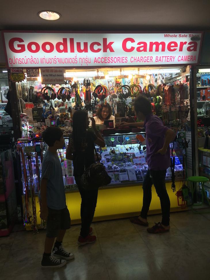 Eletrónica no MBK Center, Banguecoque, Tailândia © Viaje Comigo