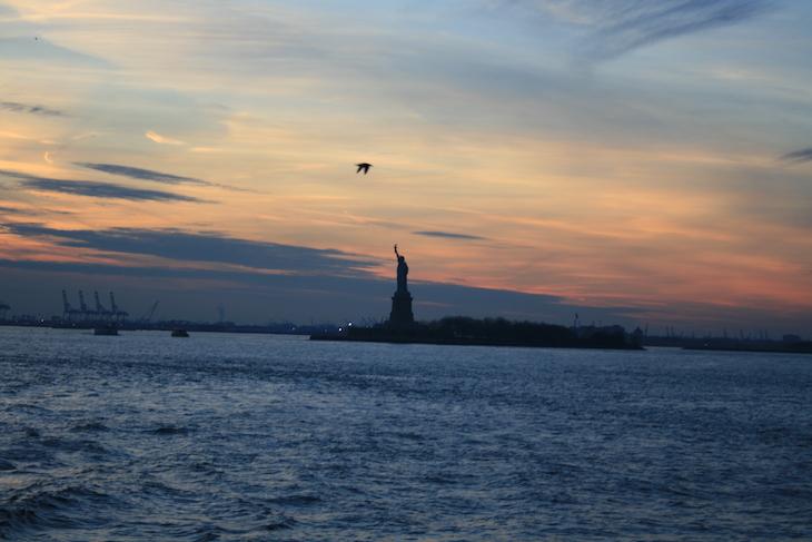 Ferry Staten Island - Nova Iorque © Viaje Comigo