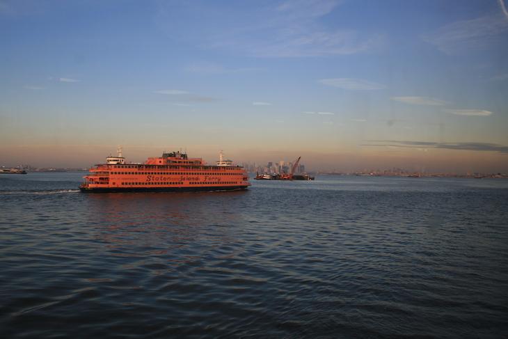 No Ferry Staten Island - Nova Iorque © Viaje Comigo