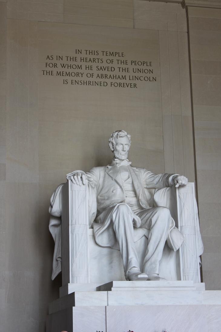 Memorial de Abraham Lincoln em Washington DC © Viaje Comigo