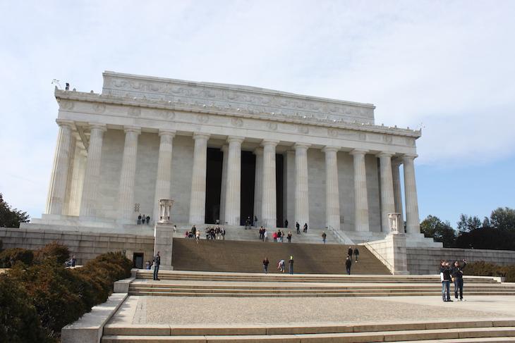 Memorial de Lincoln em Washington DC © Viaje Comigo
