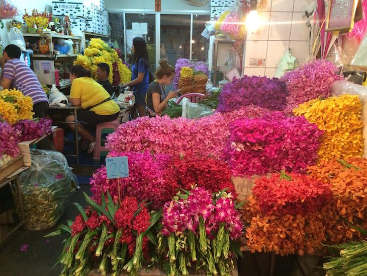Mercado das Flores, Banguecoque © Viaje Comigo