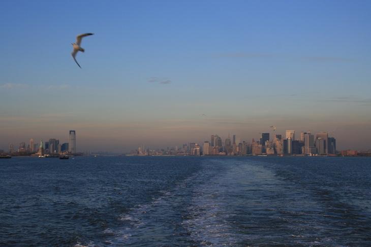 No Ferry para Staten Island - Nova Iorque © Viaje Comigo