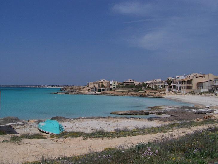 Praia e barco, Maiorca