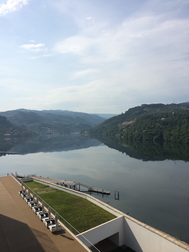 Rio de manhã no Douro Royal Valley Hotel & Spa © Viaje Comigo