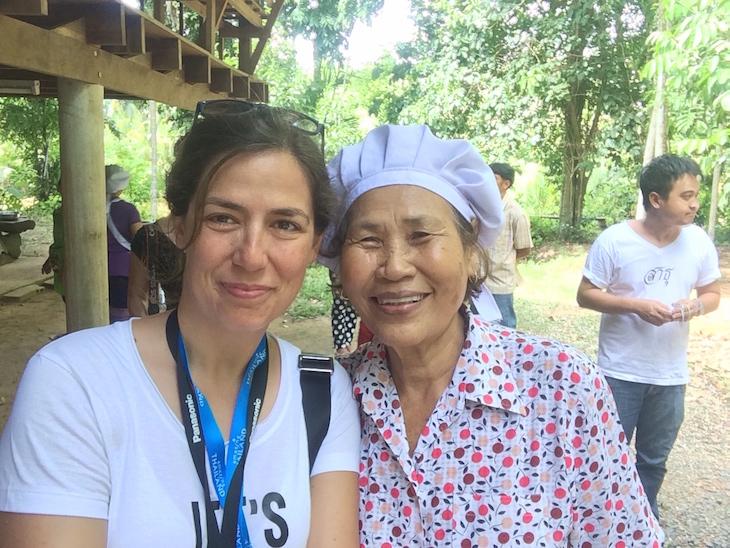 Susana Ribeiro no Huai Raeng Ecoturism Group, Trat, Tailândia @ Viaje Comigo