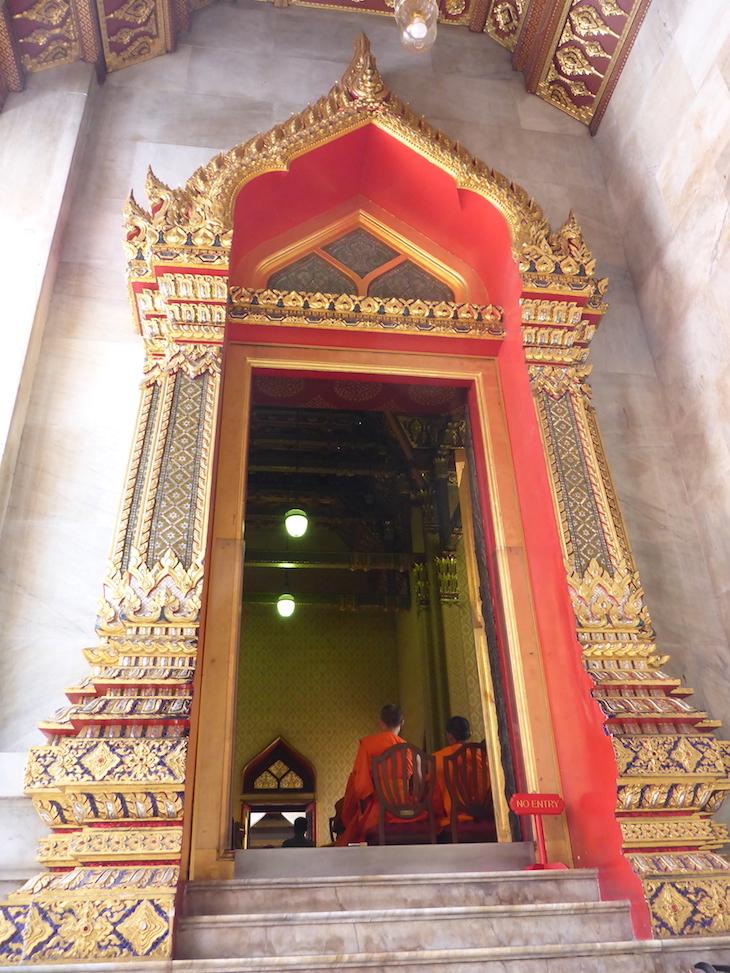 Wat Benchamabophit, Banguecoque, Tailândia  © Viaje Comigo